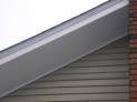 Composite Soffit and Rake Boards.  Soffit sheet goods used.